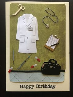 35 best cards doctor cards images on pinterest homemade cards handmade card for your favorite doctor homemade cards diy birthday card handmade greeting m4hsunfo