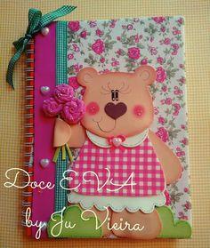 Caderno ursinha