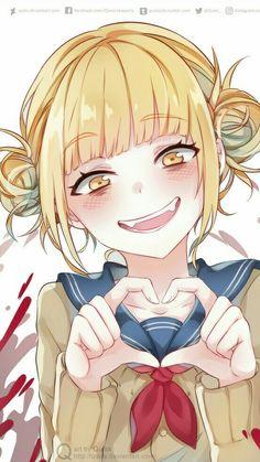 My Hero Academia, yandere, Himiko Toga / Cute crazy - pixiv Yandere Girl, Yandere Anime, Animes Yandere, Chica Anime Manga, Otaku Anime, Fan Art Anime, Anime Art Girl, Anime Girls, Manga Girl