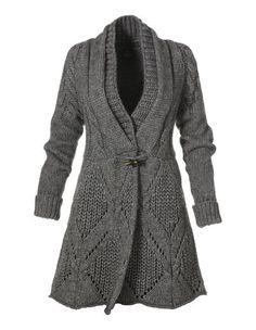 Knitted jacket (coat) - maomao - I move your feet