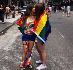 Find images and videos about girls, lesbian and lgbt on We Heart It - the app to get lost in what you love. Cute Lesbian Couples, Lesbian Pride, Lesbian Love, Girlfriend Goals, Pride Outfit, Gay Aesthetic, Pride Parade, Lgbt Community, Cute Gay