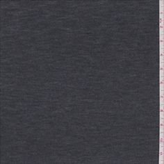 Charcoal Grey Hatchi Sweater Knit - 29525 - Fabric By The Yard At Discount Prices