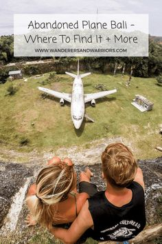 Wanderers & Warriors Pinterest - Charlie & Lauren UK Travel Couple - Abandoned Plane Bali – Where To Find It + More - Things to do in Uluwatu