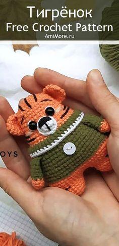 PDF Тигрёнок крючком. FREE crochet pattern; Аmigurumi animal patterns. Амигуруми схемы и описания на русском. Вязаные игрушки и поделки своими руками #amimore - тигр, маленький тигренок, котик, кот, кошечка, кошка, котенок, tiger, tygrys, tigre, tiikeri, tygr, cat, kitten, gato, gatito, gatinho, chat, minou, kitty, kätzchen. Amigurumi doll pattern free; amigurumi patterns; amigurumi crochet; amigurumi crochet patterns; amigurumi patterns free; amigurumi today.