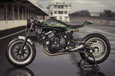 Awesome! Kawasaki Vulcan S Cafe Racer by MRS Oficina.