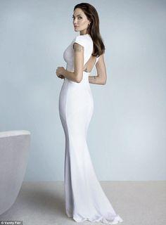 Angelina Jolie for Vanity Fair's December issue <3
