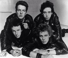 The Clash - Joe Strummer, Paul Simonon, Mick Jones and Topper Headon.