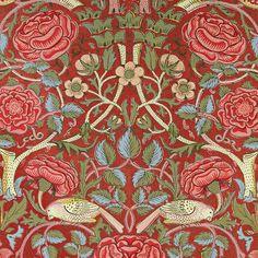 William Morris: 'Bird and Rose'