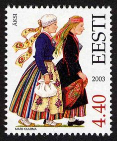 Estonia - Paradise of the North: Estonian Folk Costumes