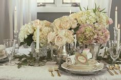 Shabby Sweet  Cottage: Valentines Day Table