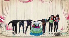 Monsieur Periné - Cou-Cou (Video Oficial) HD reminds me of Coldplay's Strawberry Swing video