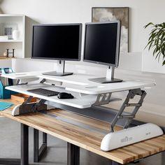 Standing Desks | VARIDESK®. Best investment I've ever made. Love it!!