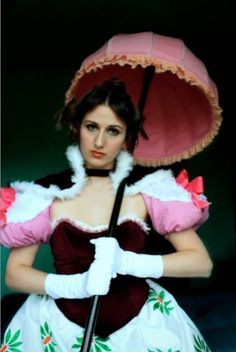Lillian Gracey, a.k.a. the Tightrope Girl from the Haunted Mansion at Disneyland. This is fabulous!
