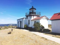 Point No Point lighthouse in Hansville, Washington. Travel Around The World, Around The Worlds, Seattle Travel, Bainbridge Island, Lighthouses, South America, My Dream, Travel Photos, Vancouver