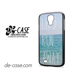 Lets Run Away Sea DEAL-6446 Samsung Phonecase Cover For Samsung Galaxy S4 / S4 Mini