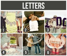 Prop Ideas For Couples: Letters