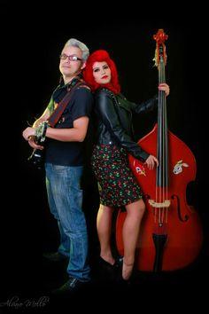 #rockabilly #bass #rockabillycouple