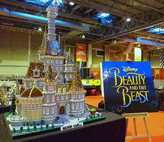 This Jaw-Dropping 'Beauty and the Beast' Castle Is Made From 500,000 Lego bricks | The Daily Dot