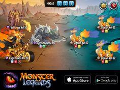Estou fazendo um contra-ataque em Monster Legends! Entre para o jogo também! http://m.onelink.me/183ad3da