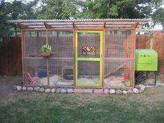 The Garden Coop and Eglu Cube - A Nice Combination! SO PRETTY