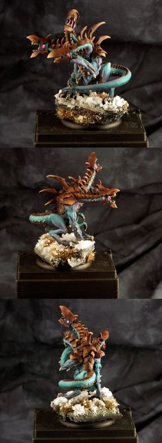 Cool skin with warm bone tones CoolMiniOrNot - Legion of Everblight Typhon Heavy Warbeast by jabbayoda
