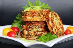 V kuchyni vždy otevřeno ...: Sýrové placičky s pórkem a brokolicí