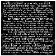 Pursuit of Proverbs 31 | Biblical Thinking