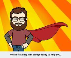 Online training man