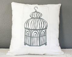 Bird Cage Pillow Tutorial