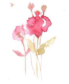 꽃.번지기.수채화 #watercolor #art #work