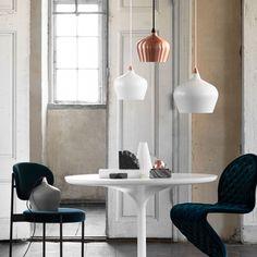 Ø16 Cohen Pendant Lamp - Copper - designed in Denmark by Frandsen Lighting #MONOQI
