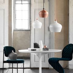 Ø16 Cohen Pendant Lamp - Copper - designed in Denmark by Frandsen Lighting #MONOQI