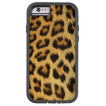 Leopard Spotted Faux Fur, African Cat Photo-sample Tough Xtreme iPhone 6 Case