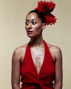Tracee Ellis-Ross - noted actress/....daughter of Diana Ross (?)