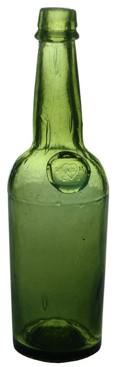 Auction 27 Preview | 853 | Meinhard Bolivar Sealed Antique Bitters Bottle
