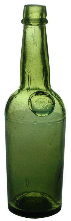 Auction 27 Preview | 853 | Meinhard Bolivar Sealed Antique Bitters Bottle