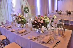 We specialize in wedding flowers & wedding decor in Toronto & GTA. Services include centerpieces,backdrops,linens and ceremony decorations. Flower Decorations, Wedding Decorations, Wedding Tiaras, Wedding Company, Wedding Flowers, Wedding Dresses, Table Settings, York, Gallery