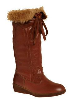 Warm and Fuzzy Inside Boot. Weve got a good feeling about these boots by Jeffrey Campbell, and were sure you will, too!  #modcloth