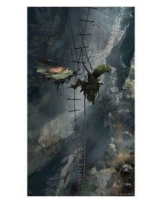 """Concept Arts do filme """"The Jungle Book"""", por Jonathan Bach   THECAB - The Concept Art Blog"""