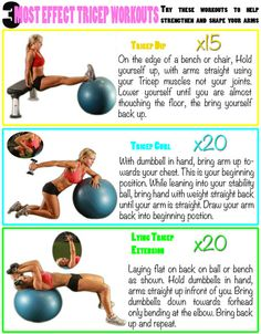 Try this tricep workout to get rid of the flab!