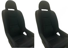 PRP Stock All Black Grand Prix Seats (Sold in Pairs) - RZR XP 1000 / XP Turbo / S 1000 / 900 / S 900