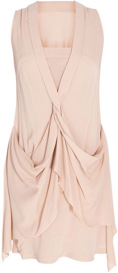 WILLOW Front Twist Dress - Lyst the twist on the front is interesting