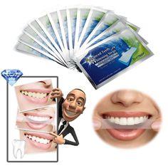 14Pairs Teeth Whitening Strips Gel Care Oral Hygiene Clareador Dental Bleaching Tooth Whitening Bleach Teeth Whiten Tools [Affiliate]