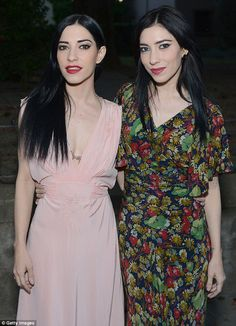 Hitting back:Australian twin singers Lisa and Jessica Origliasso, better known as The Veronicas, have hit back at critics deeming their slender frames as too 'skinny'