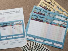 Happy mum! Found these reward charts @TheWorksStores that is going to save me a lot of work! #rewardchart #positive