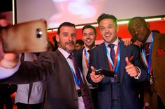 Just one of about 1000 selfies taken at the UK's Appco Group Convention 2015 at Indigo @ The O2 Arena.