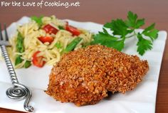 Paprika Panko Crusted Chicken thighs, boneless skinless chicken thighs