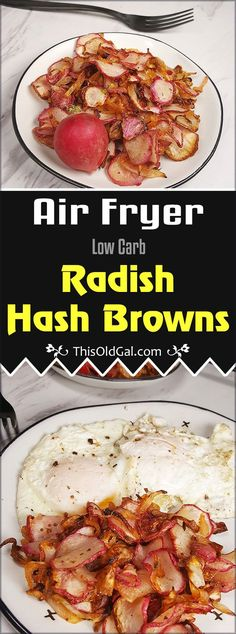 Air Fryer Low Carb Radish Home Fries Image