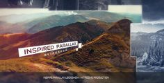 Parallax Intro  • After Effects Template • See it in action ➝…