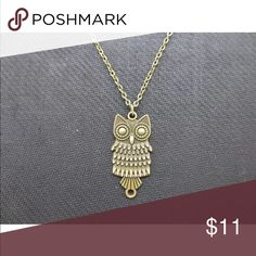 ❤️Bronze Owl Necklace❤️ New in packaging. Jewelry Necklaces
